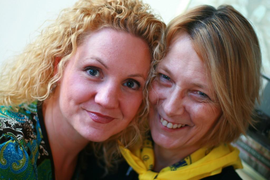 Alli Worthington And Liz Strauss